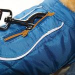 View Image 8 of Kurgo Loft Reversible Dog Jacket - Blue and Orange