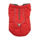 View Image 4 of Kurgo Loft Reversible Dog Jacket - Chili Red and Dark Charcoal