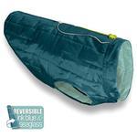 View Image 1 of Kurgo Loft Reversible Dog Jacket - Ink Blue and Sea Glass