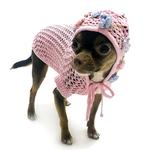 View Image 2 of Lacey Breezy Dog Cover-Up Hoodie By Oscar Newman