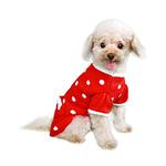 View Image 2 of Lala Dog Sweater - Red