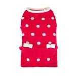 View Image 1 of Lala Dog Sweater - Red