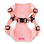 View Image 2 of Lapine Comfort Dog Harness by Pinkaholic - Pink