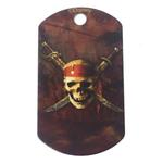 View Image 1 of Large Military Engravable Pet I.D. Tag - Disney© Pirates of the Caribbean