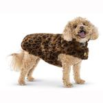 View Image 2 of Leopard Fur Dog Coat by Up Country