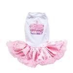 View Image 1 of Light Pink Cupcake Dog Dress by Pawpatu