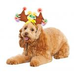 View Image 1 of Light Up Reindeer Antlers Dog Hat