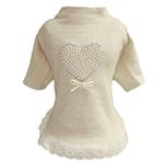 View Image 1 of Pearl Heart Baby Dog Dress by Hello Doggie