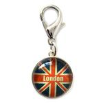 View Image 1 of London Bubble Dog Collar Charm