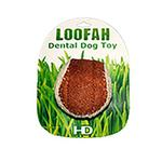 View Image 2 of Loofah Dental Ball Dog Toy by Hip Doggie