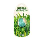 View Image 3 of Loofah Dental Ball Dog Toy by Hip Doggie