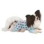 View Image 2 of Lookin' Good Owl Print Dog Pajamas - Blue