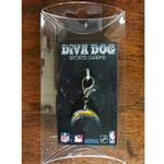 View Image 2 of Los Angeles Chargers Logo Dog Collar Charm