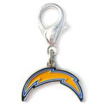 View Image 1 of Los Angeles Chargers Logo Dog Collar Charm