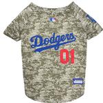 View Image 1 of Los Angeles Dodgers Dog Jersey - Camo