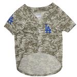 View Image 2 of Los Angeles Dodgers Dog Jersey - Camo