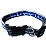 View Image 1 of Los Angeles Dodgers Officially Licensed Ribbon Dog Collar