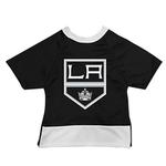 View Image 1 of Los Angeles Kings Mesh Dog Jersey - Black with White Trim