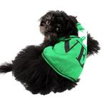 View Image 4 of Love Shamrock Dog Tank - Green