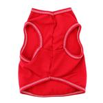 View Image 4 of Love with Three Hearts Dog Tank - Red
