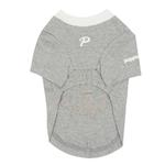 View Image 2 of Lovely Doggie Dog Shirt by Puppia - Gray