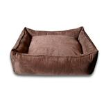View Image 1 of Luca Lounge Dog Bed - Chocolate