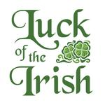 View Image 2 of Luck of the Irish Dog Shirt - White