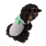 View Image 2 of Lucky Swoosh Dog Shirt - Gray