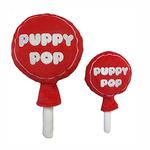 View Image 1 of Lulubelles Power Plush Dog Toy - Cherry Puppy Pop