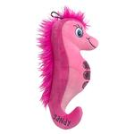 View Image 1 of Lulubelles Power Plush Dog Toy - Sandy Seahorse