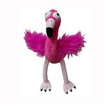 View Image 1 of Lulubelles Power Plush Dog Toy - Flo Rida Flamingo