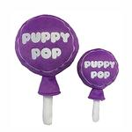 View Image 1 of Lulubelles Power Plush Dog Toy - Grape Puppy Pop