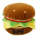 View Image 1 of Lulubelles Power Plush Dog Toy - Hamburger
