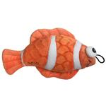 View Image 1 of Lulubelles Power Plush Dog Toy - Bubbles the Clownfish