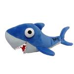 View Image 1 of Lulubelles Power Plush Dog Toy - Shark