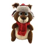 View Image 2 of Lulubelles Power Plush Holiday Dog Toy - Chester