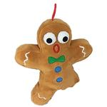 View Image 1 of Lulubelles Power Plush Holiday Dog Toy - Ginger Snapped