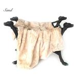 View Image 1 of Luxe Dog Blanket by Hello Doggie - Sand