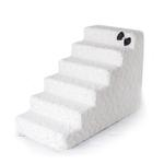 View Image 2 of Luxury Pet Stairs by Hello Doggie - Classic Ivory