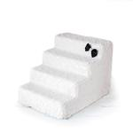 View Image 1 of Luxury Pet Stairs by Hello Doggie - Classic Ivory