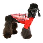 View Image 5 of Major Baseball Dog Jersey by Puppia - Red