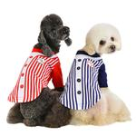 View Image 4 of Major Baseball Dog Jersey by Puppia - Red