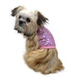 View Image 2 of Malibu Dream Sequin Dog Tank - Pink