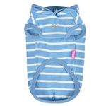 View Image 2 of Mamours Dog Hoodie by Pinkaholic - Blue