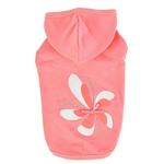 View Image 1 of Azalea Dog Hoodie by Pinkaholic - Indian Pink