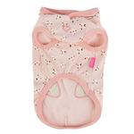 View Image 2 of Fiorella Dog Hoodie by Pinkaholic - Indian Pink