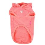 View Image 2 of Azalea Dog Hoodie by Pinkaholic - Indian Pink