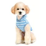 View Image 5 of Mamours Dog Hoodie by Pinkaholic - Blue
