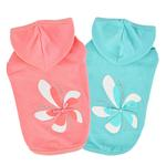 View Image 3 of Azalea Dog Hoodie by Pinkaholic - Indian Pink
