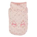 View Image 1 of Fiorella Dog Hoodie by Pinkaholic - Indian Pink